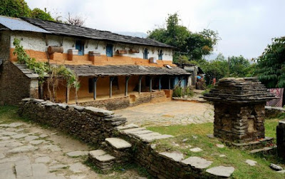 Typical Nepali Traditional Home