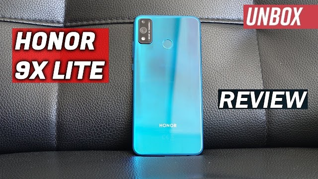 Honor 9x Lite,Unboxing and Impressions.Techlinknews
