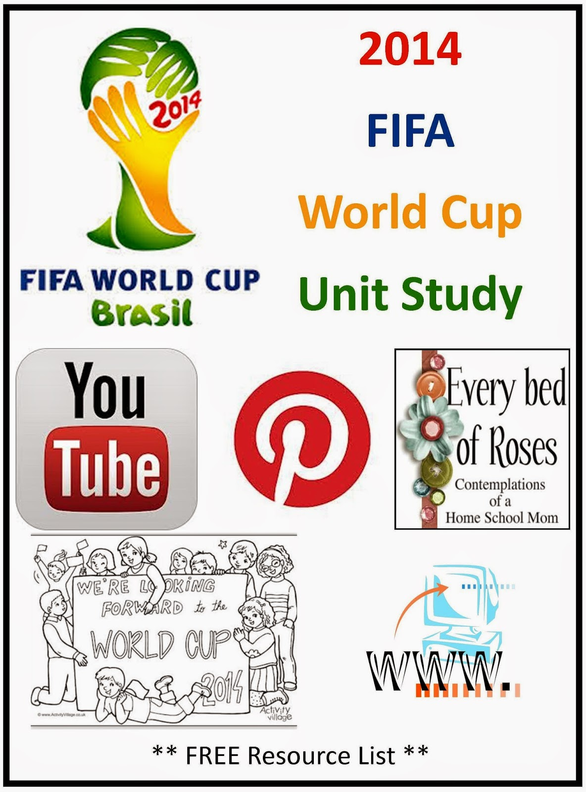 Every Bed Of Roses World Cup Soccer Unit Study Resources