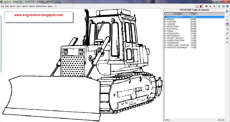 Komatsu Linkone 2011 D31p Wiring Diagram Models List Pc4000 6 S N 08152 Pc8000 1 12033 1d75 1a 00100 Up 1b 1d84 00101