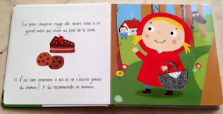 Le petit chaperon rouge - Contes de fées à toucher - Editions TAM TAM