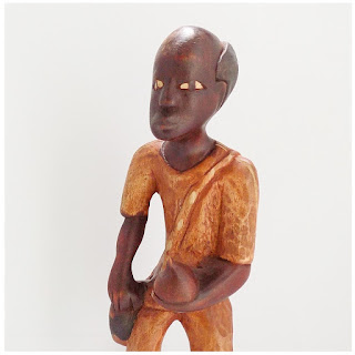 Jacmel, Haiti  Wood Carving-Face