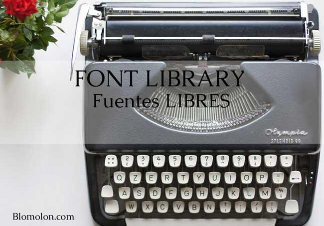 Font-library-fuentes-libres