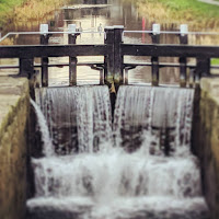 Dublin Pictures: a lock on the Grand Canal