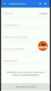 Flipkart Cash on Delivery ka Refund Bank me kaise lete hai? कैश ऑन डिलीवरी का रिफंड कैसे लेते हैं?