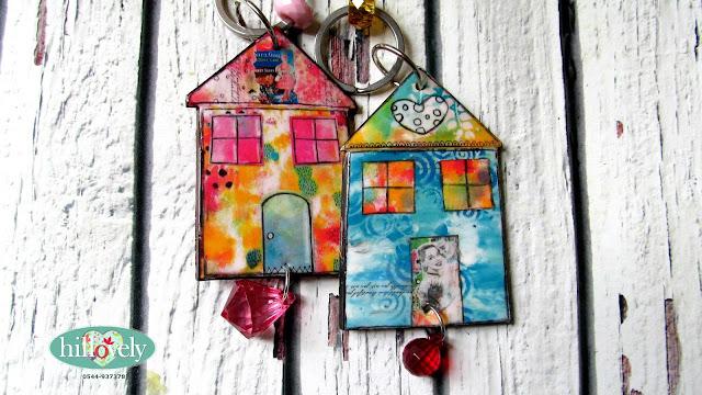 mer clay keychain,Fimo keychain, hillovely, hilla bushari, fimo house