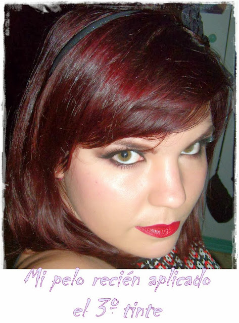 pelo rojo color sensation garnier