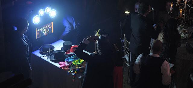 Fotocabina en la fiesta en Bahia
