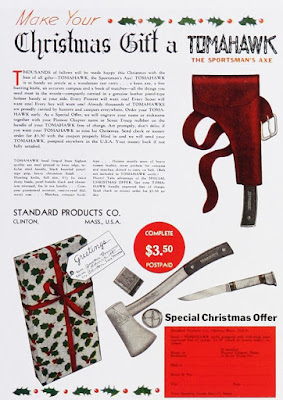 Make your Christmas gift a Tomahawk