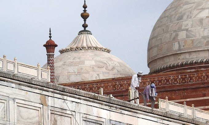 Deadly thunderstorm in northern India partly damages Taj Mahal