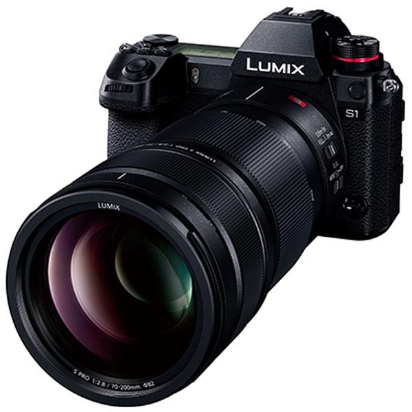 Panasonic Lumix S Pro 70-200mm f/2.8 O.I.S. с камерой Panasonic Lumix S1