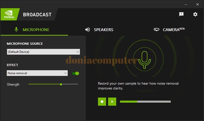 تطبيق Nvidia Broadcast يساعدك بتحويل أي مكان إلى استديو بث بفضل الذكاء الاصطناعي