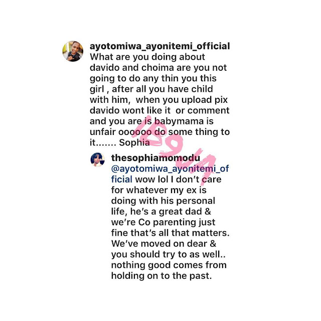 Sophia Momodu  Davido's Baby Mama Finally Reacts To His Relationship  With Chioma