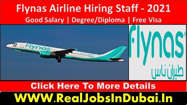 Flynas Air Hiring Staff In Saudi Arabia - 2021