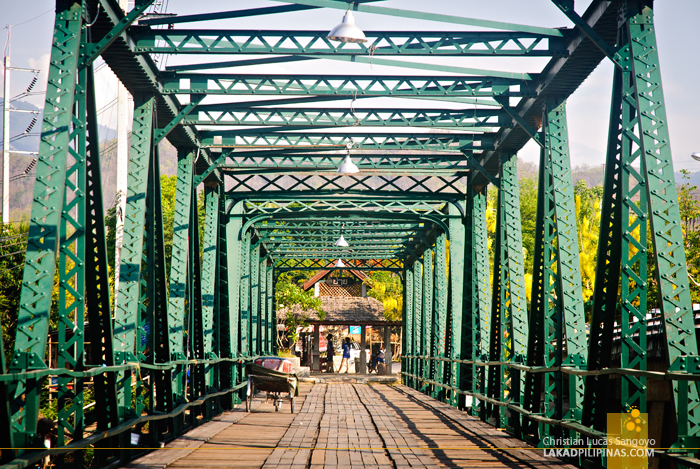 Pai Memorial Bridge, Thailand