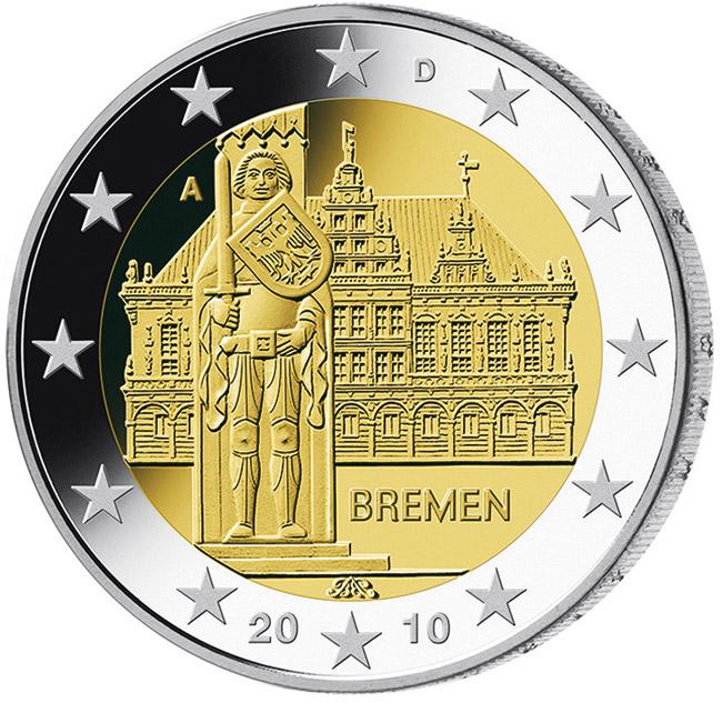 Deutsche 2 Euro Münzen Bundesländer