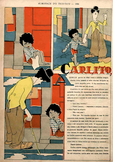 Carlito - Charles Chaplin - Tico-Tico - J. Carlos