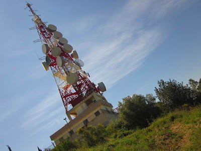 Sant Pere Martir Broadcast Station in Barcelona