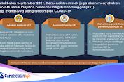 Kemendikbudristek Berikan Bantuan Lanjutan Uang Kuliah Tunggal (UKT) dan Kuota Data Internet 2021