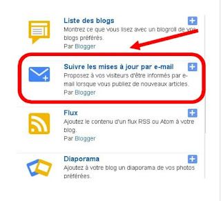 La newsletter de son blog sur Blogger Blogspot pour augmenter son référencement