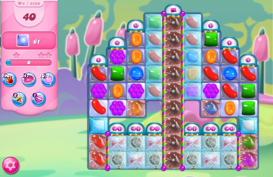 Candy Crush Saga level 8560