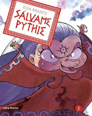 Manga: Review de Sálvame, Pythie Vol.3 de Elsa Brants  - Letrablanka editorial