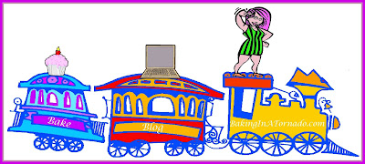 All Aboard | graphic designed by and property of www.BakingInATornado.com | #MyGraphics