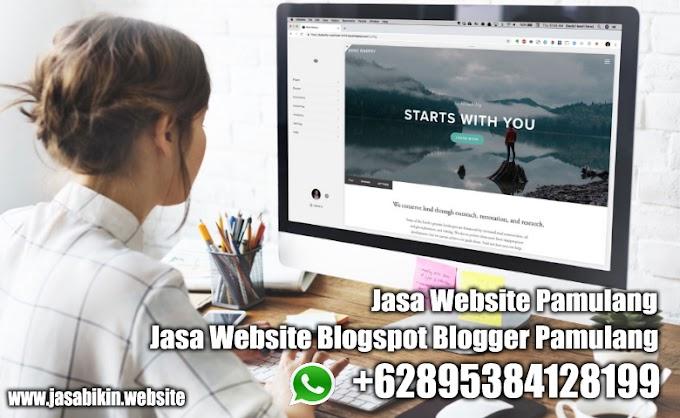 Jasa Blogspot Pamulang Tangerang Selatan - Website Blog Blogspot Blogger Pamulang