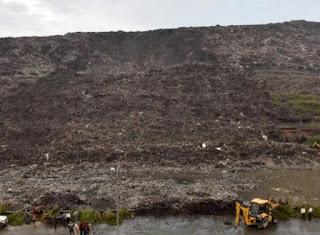 दिल्ली का कचरे का ढेर