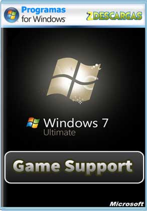 Windows 7 SP1 Ultimate [Soporte Gamer] Full Español