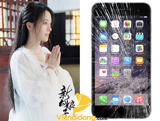 Lầm tưởng ép kính iPhone 6S Plus là thay màn hình