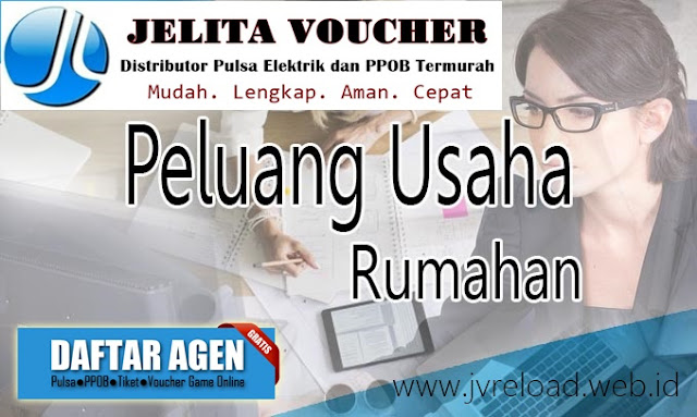 Bisnis Agen Pulsa Elektrik Online Termurah