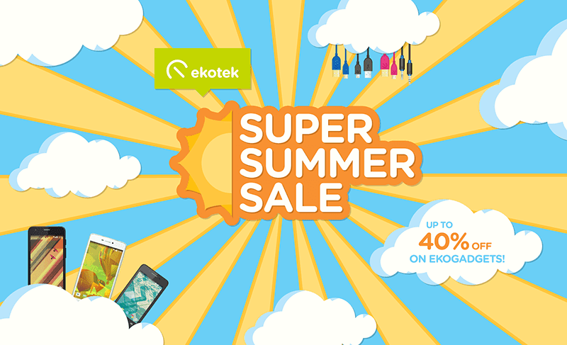Ekotek Super Summer Sale Announced!
