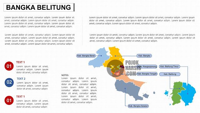 Peta Provinsi Babel PPTX