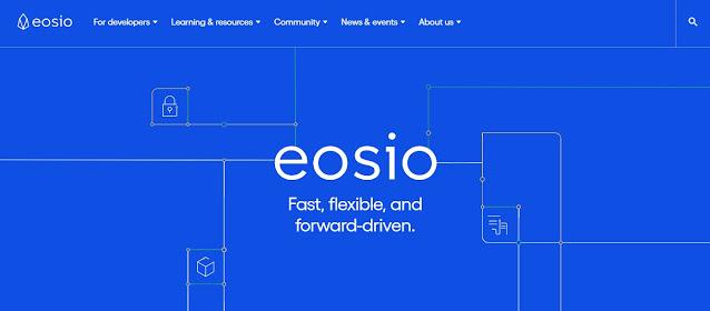 Screenshot Website EOS (EOS)