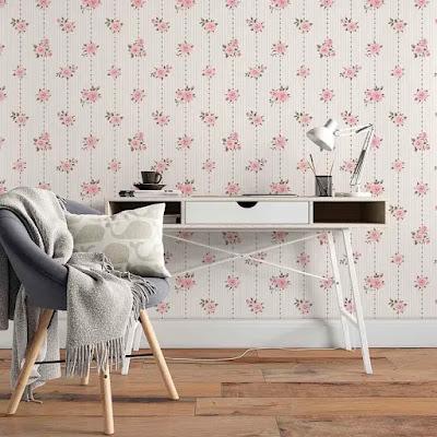 papel-parede-floral-delicado-pinterest