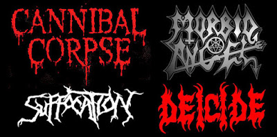"""Sejarah Musik Metal Dan Jenis Musik Metal  Underground Metal, mulai muncul di industri musik barat. Tampil dengan 2 jenis yang berirama cepat dan yang berirama sedang (slow). Yang berirama cepat adalah """"Thrash Metal"""" (biasanya disebut Speed Metal & street Metal). Thrash Metal diusung oleh Metallica, Slayer, Exodus Anthrax, Nuclear assault. Thrash Metal sekarang ini bahkan muncul lebih garang lagi. Aliran Slow Metal dijuluki """"Heavy sludge sound"""" yang aslinya dari sound Black sabbath. Band-band dengan  aliran ini adalah Candlemass, St. Vitus dan Trouble. Sekarang ini muncul beragam gaya Metal underground, dari yang agressif dan bertenaga hingga yang memiliki nuansa """"New Millenium """".  Metal underground berkembang dan menyebar hingga hampir ke seluruh bagian dunia, bahkan sampai seperti dikatakan seorang editor majalah musik """"Perkembangan musik ini bagaikan cabang """"McDonald"""" yang ada hampir diseluruh dunia.""""  Berikut ini diantaranya adalah jenis-jenis Musik Metal yang berkembang hingga kini, sebagai berikut   DEATH METAL    Pada tahun 1990'an, underground ini lebih memasuki ke Extreme metal seperti Grindcore dipelopori oleh Napalm Death dan Brutal Truth, berkembang pada 1991 menjadi Death metal Scandinavia oleh Entombed, Dismember, Unleashed, dan At The Gates. Melodic Death metal yang berasal dari Gothenburg Swedia lalu berkembang"""