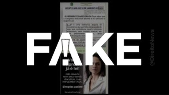 fake existe lei vigor voto impresso
