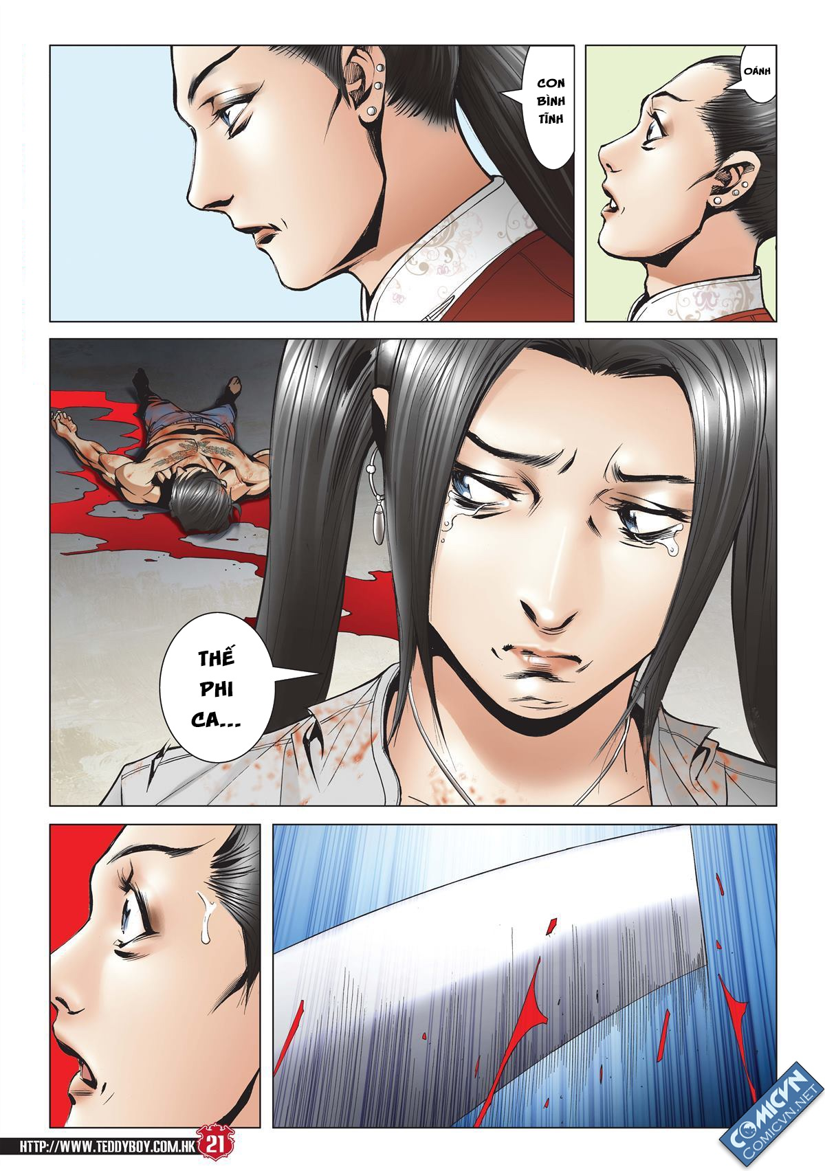 Người Trong Giang Hồ chapter 2001: tự tận trang 20