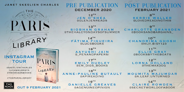 The Paris Library Blog Tour Graphic