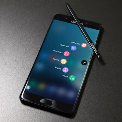 Tahukah Anda : Kenali Samsung Galaxy Note 7 Dengan Icon Bateri Baru