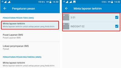 Cara Mengaktifkan Laporan Pengiriman SMS di HP Android 2