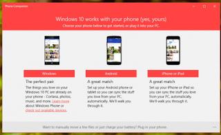 Cara Menggunakan Phone Companion Windows 10