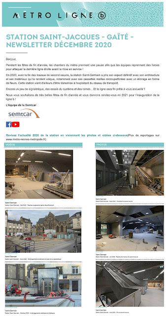 Info Chantier - Place Saint-Germain - Décembre 2020