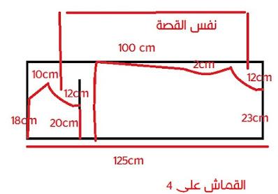 شرح مفصل لخطوات خياطة فستان بيت لطقلة | 2 موديل