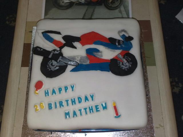 Bike Birthday Cake