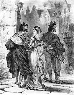 Arm and Escort; Eugene Delacroix