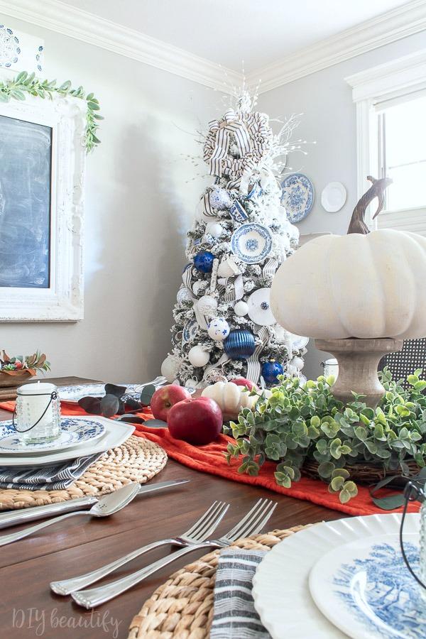 pumpkins and Christmas