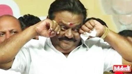 Vijayakanth crying reaction | Ultimate comedy