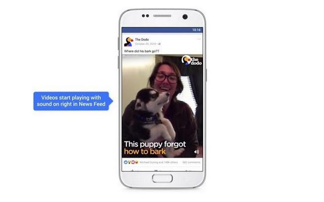 Facebook မွ Auto-Play Video နဲ႔ Sound ကို ပိတ္နည္း၊ ဖြင့္နည္း